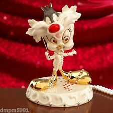 Lenox Tweety Masquerade Figurine Sylvester Mask Warner Bros. NEW IN BOX!!