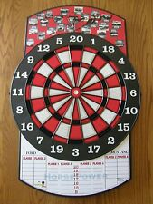Ford Mustang Challanger Targets Non-Electronic Plastic Tipped Dart Board-New