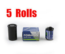 5 Rolls Foma Fomapan 400 Action 400 35mm 135-36  B&W  Film Dated 05/2018