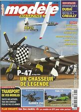 MODELE MAG N°769 PLAN : GEE BEE MODELE D / P-47 / RUNNER 250 / YAK 55 / ASK 21
