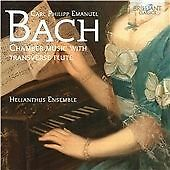 C.P.E. BACH: CHAMBER MUSIC WITH TRANSVERSE FLUTE NEW & SEALED