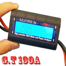 G.T.Power High Precision 130A Watt Meter and Power Analyzer Tester RC Model B