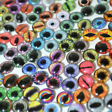 Random Overstock Glass Eye Lot - 10 pairs (20 Eyes) size 10mm - Glass Eyes