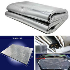 Car Heat Shield Mat Exhaust Muffler Engine Bady Sound Insulation Hood Cotton Pad
