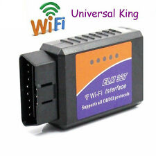 Mini ELM327 Wi-Fi OBD2 OBDII WiFi For iPhone Car Diagnostic Interface Scanner O#