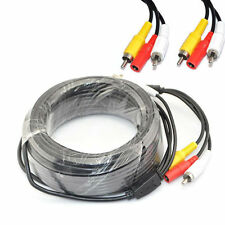 20M Meter CCTV Security Camera DVR Phono RCA Video Audio AV DC Power Cable Plug