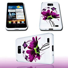 DESIGN No.3 SILIKON TPU COVERH CASE + Displayschutzfolie SAMSUNG I9100 GALAXY S2