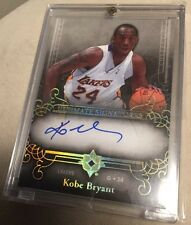 Kobe Bryant 2006-07 Ultimate Collection Ultimate Signatures Auto