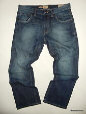 mens W32 x L29 Next Vintage Denim Hand Crafted Jeans Boot Cut