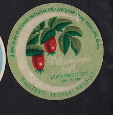 Ancienne  étiquette Fromage  Hongrie  BN10354 Fruit