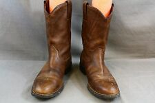 ARIAT Size 7.5B Womens Brown Heritage Roper Timber Round Toe Boots