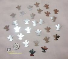 Wedding Table Scatters Foil Confetti Cute Angel - Silver
