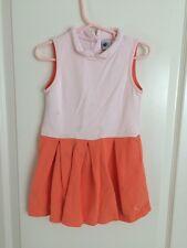 Petit Bateau Toddler Polo Tennis Preppy Girls Dress Size 5 ans