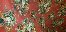 EXCELLNT VINTAGE RALPH LAUREN AYLESBURY Garden Floral Red Full / QUEEN COMFORTER