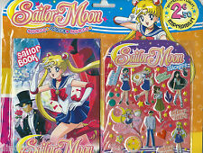 Sailor Moon Book and Sticker Set 6.5x4.5 inch approx  Multi-Buy Discount