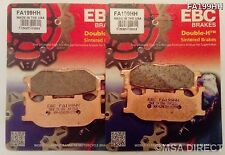 Yamaha XVS1100 Dragstar (1999 to 2006) EBC FRONT Sintered Brake Pads (FA199HHx2)