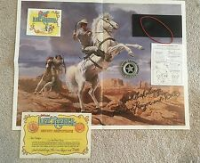 Vintage The Lone Ranger Deputy Kit 1980 Premium from Cheerios COMPLETE
