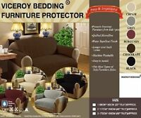 3 Seater Cream Sofa Protector Throw Furniture Protector Cover Water Resistant