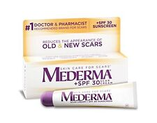 New Sealed Mederma SPF 30 Scar Cream 0.70 oz 20g Skin Care SunScreen 12/2017 Exp