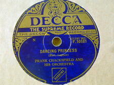 GOLDEN TANGO - DANCING PRINCESS FRANK CHACKSFIELD & HIS ORC 78rpm 1950's VINTAGE