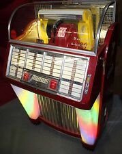 Seeburg Model 100C Jukebox with Coca-Cola Advertisements