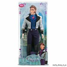 NEW Disney Store Frozen Hans Classic Doll Figure Prince Male Deluxe Toy