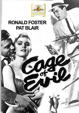 Cage of Evil 1960 (DVD) Ronald Foster, Pat Blair - New!