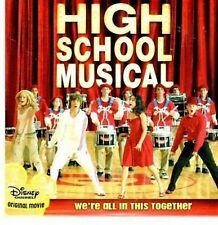 (BN136) High School Musical, We're All In This T- DJ CD