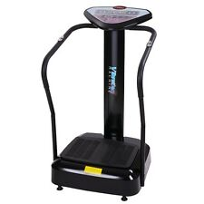 1000W Crazy Fitness Whole Body Vibration Plate Machine Massager Exercise Black