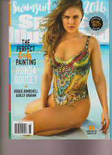 SPORTS ILLUSTRATED MAGAZINE 2016 SI SWIMSUIT ISSUE RONDA ROUSEY. NO LABEL.