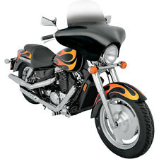 Memphis Shades Black Paintable Batwing Fairing for Harley Motorcycle MEM7011