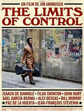 Affiche 120x160cm THE LIMITS OF CONTROL 2009 Jim Jarmusch - Isaach de Bankolé