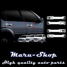 Chrome Door Handle Catch Cover Trim for 04~12 Ssangyong Rodius/Stavic