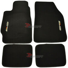 Fit 88-91 Honda Civic CRX EC ED EE EF Nylon Floor Mats Carpets 4Pcs