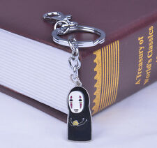 Japanese Anime Spirited Away No Face Keychain Faceless Key Chain Keying Gift