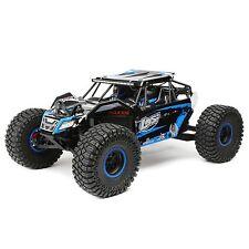 Team Losi Rock Rey 1/10 Rock Racer Truck RTR DX2E AVC 4WD Blue LOS03009T2