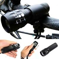 Fashion 1200 Q5 Cycling Bike Bicycle LED Front Head Light Torch Lamp With Mount