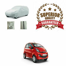 Superior Quality Silver Matty Car Body Cover - Tata Nano