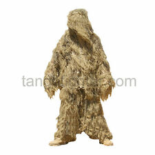 CONDOR GS 4-Color Dye MOSSY Desert Tan Tactical Ghillie Sniper Suit size XL/XXL