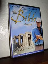 Charlton Heston Presents The Bible: Genesis (DVD,NEW)
