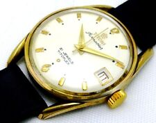 rare VINTAGE TITONI AIRMASTER 21JEWELS SWISS WRIST WATCH,