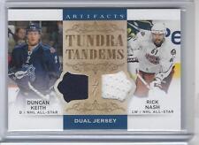 2014/15 Artifacts Tundra Tandems Duncan Keith & Rick Nash Dual Jersey