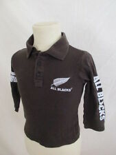 Polo All Blacks Marron Taille 4 ans à - 54%