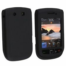 Silicone Skin Case for Blackberry Torch 9800/9810 - Black
