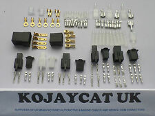 MOTORCYCLE WIRING LOOM CONNECTOR REPAIR KIT HONDA SUZUKI YAMHA KAWASAKI TERMINAL