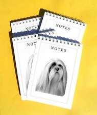 Lhasa Apso Pack of 4, A6 Small Dog Note Pads Gift Set