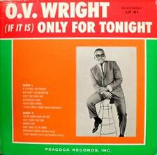 O.V. WRIGHT If It Is Only For Tonight LP NEW SEALED VINYL  BACKBEAT LP-61