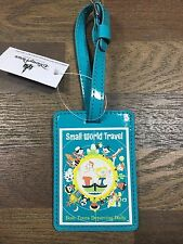 WALT DISNEY WORLD DISNEYLAND IT'S A SMALL WORLD TRAVEL LUGGAGE TAG
