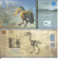 ICE AGE 9 ICE DOLLARS 2015 LOTE DE 5 BILLETES