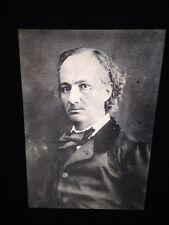 """Gaspard Nadar """"Charles Baudelaire 1863"""" 35mm Early French Photography Slide"""